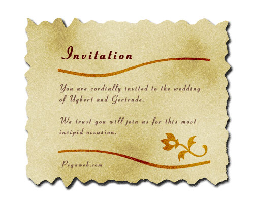Making a wedding invitation in photoshop 4 text and decoration stopboris